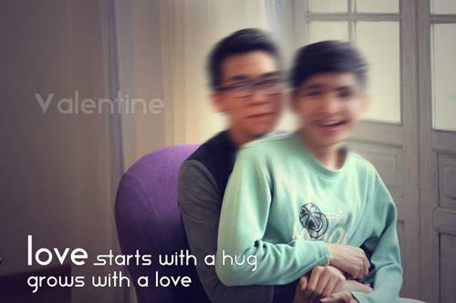 yeu dong tinh: valentine ngot ngao khong kem ai - 1