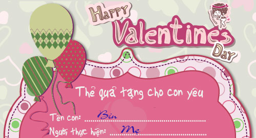 """hoc lom qua valentine """"doc"""" cua me nam - 5"""
