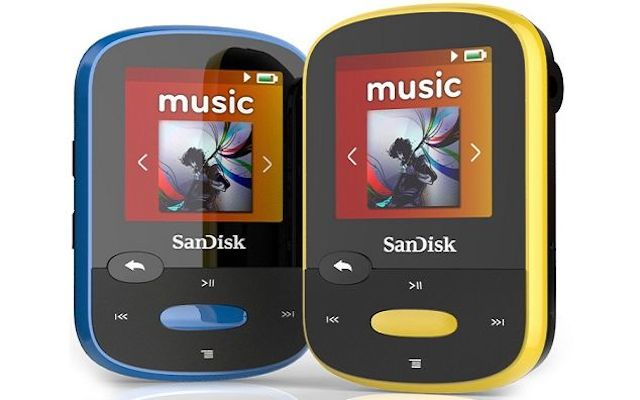sandisk ra mat may nghe nhac the thao gia re - 1