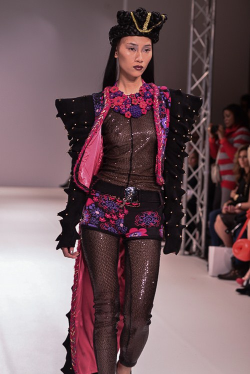 trang khieu dien 3 show tai london fashion week - 3