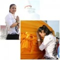 Làng sao - Việt Trinh thành tâm ở Thái Lan