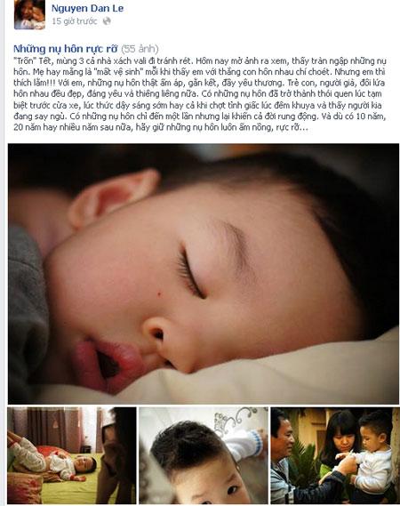 mc dan le hanh phuc ben chong va con trai - 2