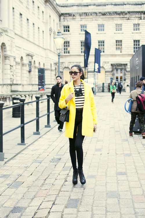 "hoang thuy duoc elle uk chu y nho street style cuc ""chat"" - 13"