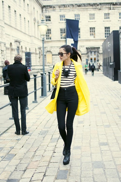 "hoang thuy duoc elle uk chu y nho street style cuc ""chat"" - 8"