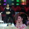 Làng sao - Tim giả gái khoe eo thon tại Bước nhảy Hoàn vũ