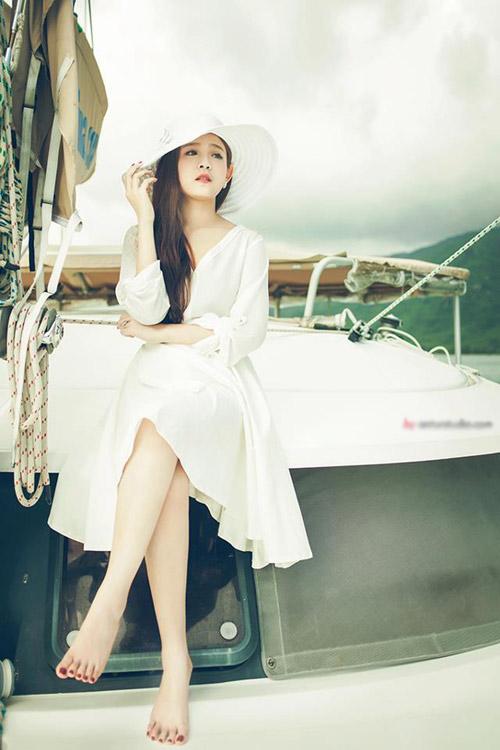 hot girl huyen baby: khac la sau lay chong - 15