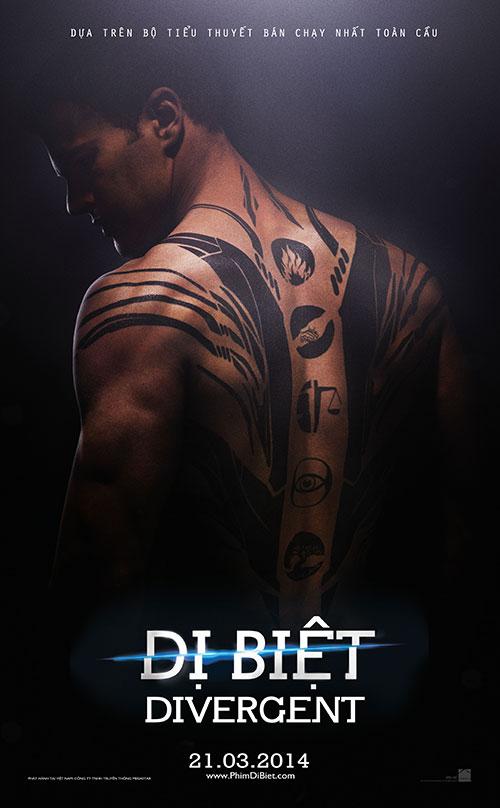 "divergent - ""di biet"" tung loat poster man nhan - 6"
