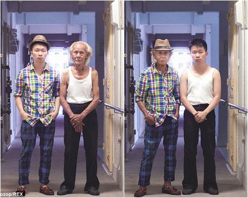 gioi tre chau a hao hung hoan doi style voi ong ba - 3