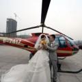 Eva tám - Màn cầu hôn lãng mạn bằng trực thăng ở TQ
