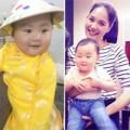 Làng sao - Con gái HH Hương Giang tròn trịa đáng yêu