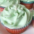 Bếp Eva - Cupcake vani bạc hà lôi cuốn