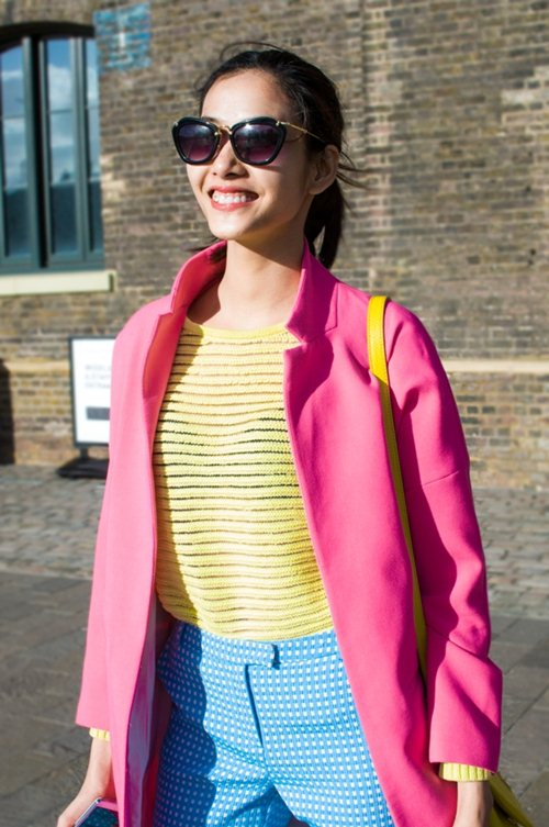 hoang thuy dien colorblock dao choi london - 11