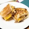 Bếp Eva - Bánh mì sandwich kẹp nấm dễ làm
