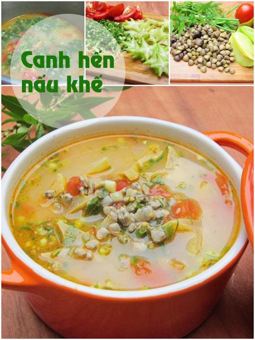 thuc don: chan gio bo, canh hen chua - 2