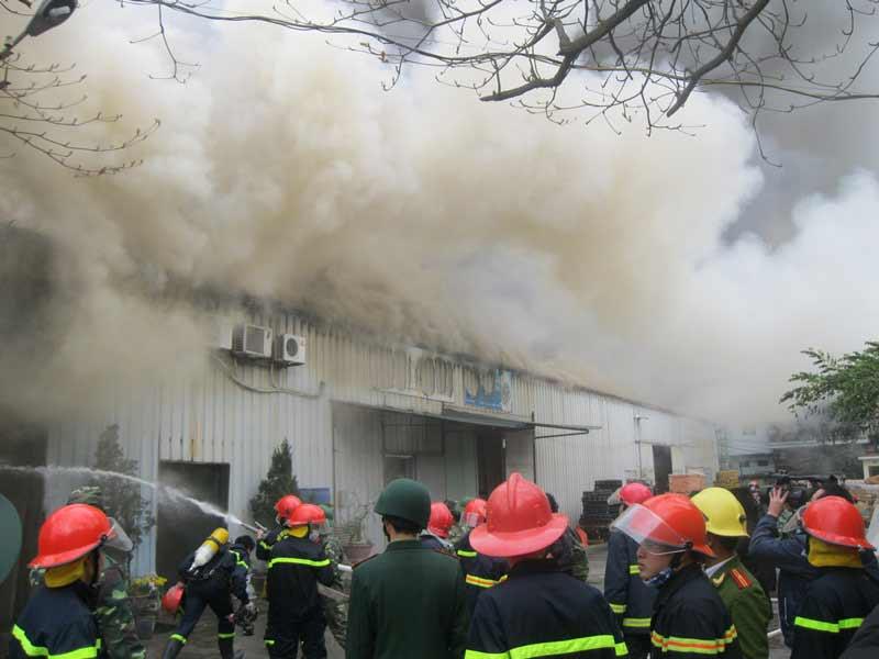 Cháy ở làng lụa Vạn Phúc: Hé lộ nguyên nhân-1