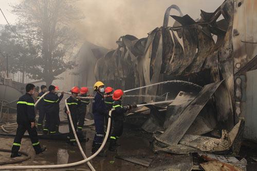 Cháy ở làng lụa Vạn Phúc: Hé lộ nguyên nhân-2
