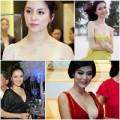 Làm đẹp - 6 Hoa hậu Việt Nam: vòng 1 ngày càng lớn