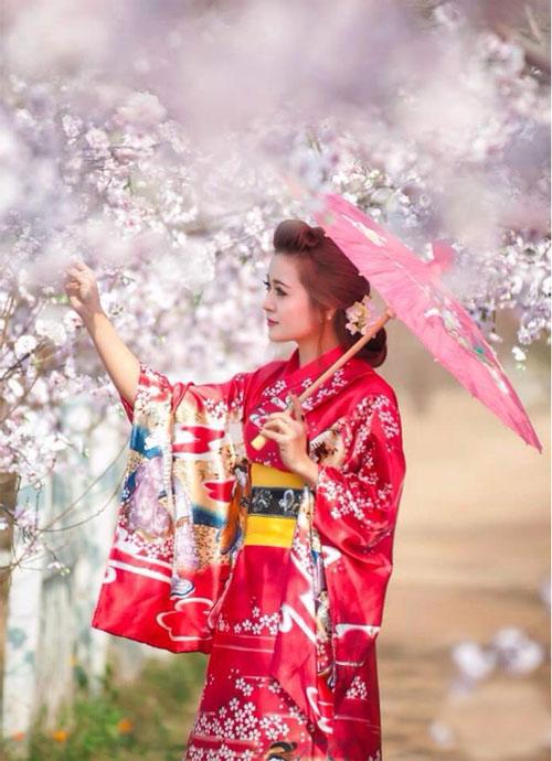 thiéu nũ viẹt xinh tuoi suòn xám, hanbok - 9