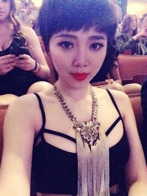 Tóc Tiên thừa nhận sexy giống Miley Cyrus-4