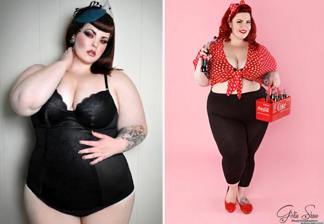 Ngắm người phụ nữ béo đẹp nhất thế giới