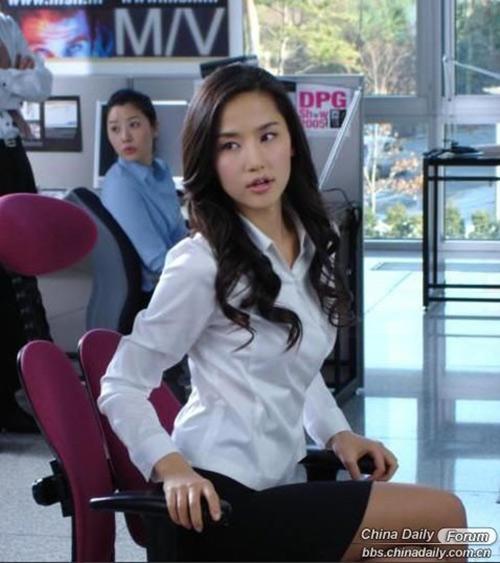 Nữ giảng viên Hàn khiến Trung Quốc xôn xao-14