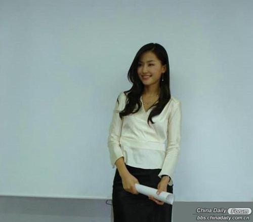 Nữ giảng viên Hàn khiến Trung Quốc xôn xao-1