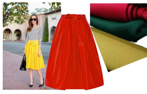 Dạo chợ Hôm: Muôn vải đẹp may váy midi - 11
