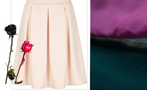 Dạo chợ Hôm: Muôn vải đẹp may váy midi - 13