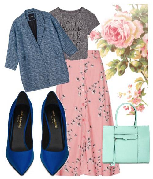 Dạo chợ Hôm: Muôn vải đẹp may váy midi - 14