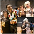 Làng sao - Danh hài Chí Tài choàng vai mẹ Diễm My 9X