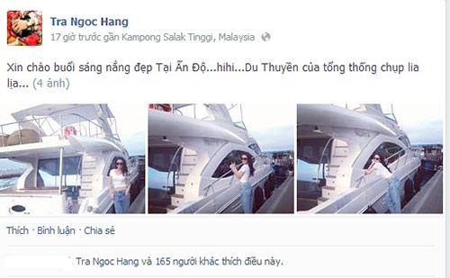 """hang tra len tieng ve """"du thuyen tong thong"""" - 1"""