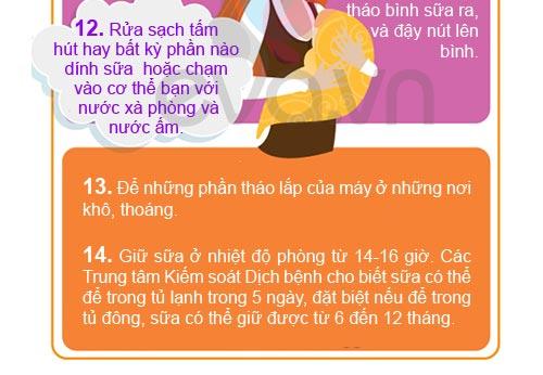 cach dung may hut sua dung, chuan - 6