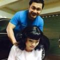 Làng sao - Lý Hùng massage cho hoa hậu Diễm Hương