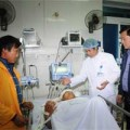 Tin tức - Điều trực thăng chở bác sỹ cấp cứu nạn nhân sập cầu