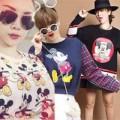 """Thời trang - Yến Trang, Yến Nhi """"chết mê"""" áo Mickey"""