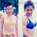 Làng sao - Sốt ảnh bikini cũ của Thư Kỳ - Từ Nhược Tuyên