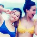 Thời trang - Thư Kỳ lộ ảnh bikini nõn nà tuổi 20