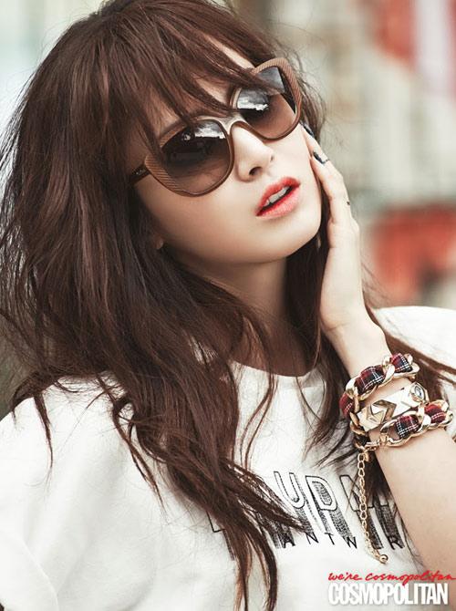 kim tae hee hòi teen: váy hoa, tóc xù - 9
