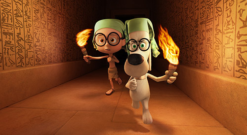 8 co hoi phieu luu cung mr.peabody va cau be sherman - 2