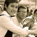 Làng sao - Hoàng My nhận học bổng 1,3 tỷ đồng