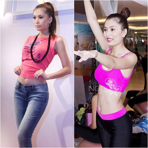 """nhung my nhan viet """"dung"""" vong eo 58cm - 15"""