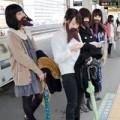 Thời trang - Sốc Nhật Bản: Phụ nữ cũng... râu ria