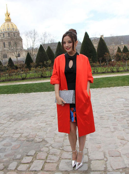 trieu vy, thu ky do style tai paris fw - 3
