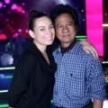 Làng sao - Phi Nhung mặt mộc đi tập hát cùng Chế Linh