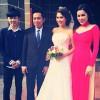 Chị gái Hoàng My hạnh phúc ngày rước dâu