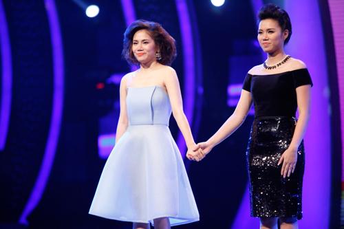 vn idol: ngan ha, yen le noi loi chia tay - 1