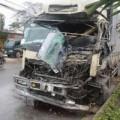 Tin tức - Tai nạn liên hoàn, tài xế mắc kẹt trong cabin