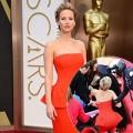"""Làng sao - Jennifer Lawrence lại """"vồ ếch"""" tại Oscar 2014"""