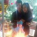 Làng sao - Huỳnh Hiểu Minh khoe ảnh thân mật bên bạn gái