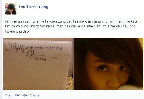 """mr dam tang chan """"doc"""" cho luu thien huong - 3"""